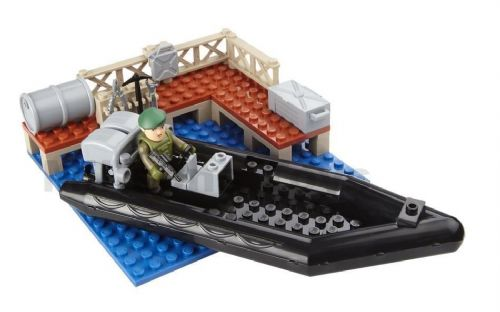 Character Building H.M Armed Forces ROYAL NAVY ASSAULT RIB Mini Set - NEW